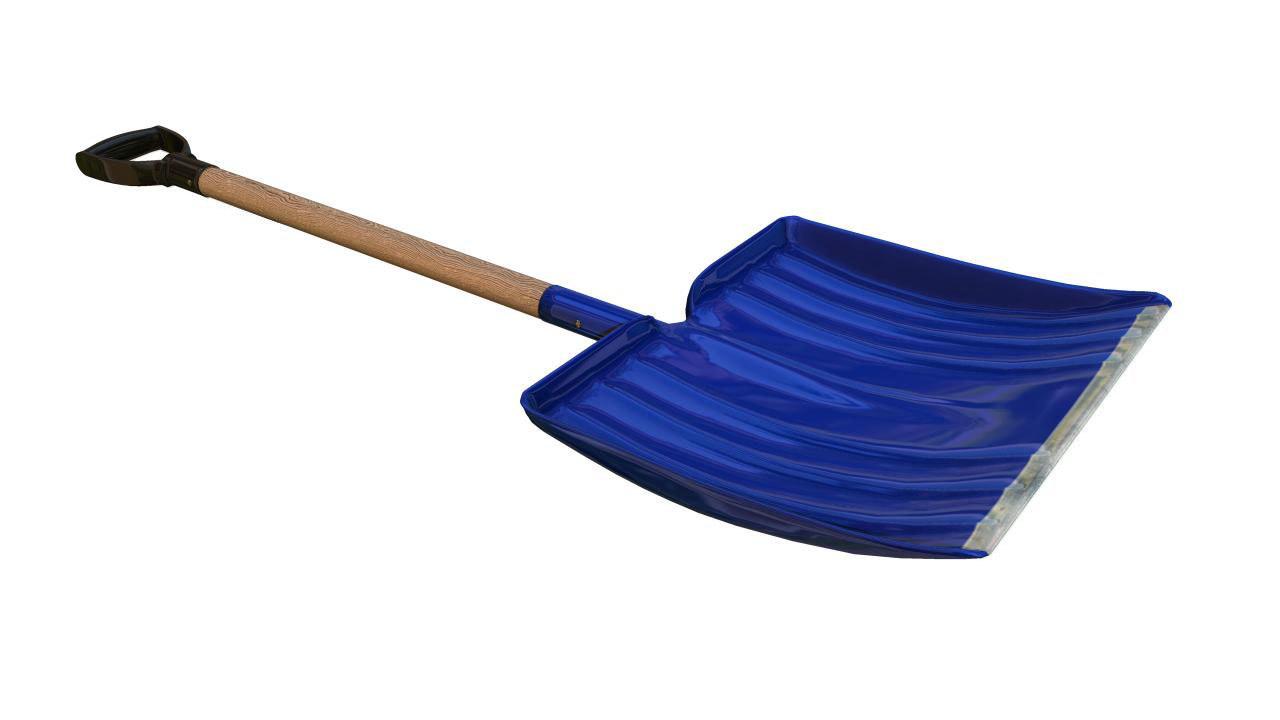 3d snow shovel model