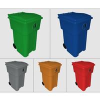 3d model bin waste