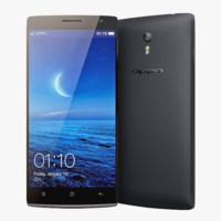 Oppo Find 7 And 7a Black