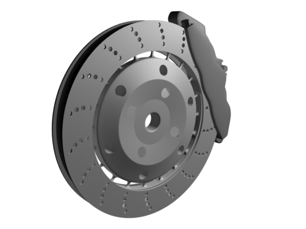 car disk 3d model