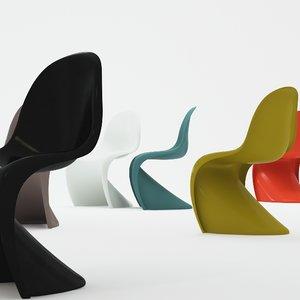 verner panton plastic chair max