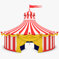 3d circus tent model  sc 1 st  TurboSquid & Circus Tent 3D Models for Download | TurboSquid