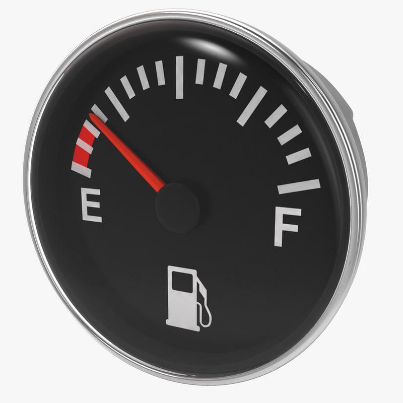 3ds max fuel gauge