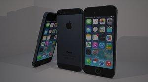 iphone 5s c4d