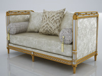 Marie-Antoinette 2 Seater Sofa  Classical Design