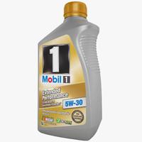3d mobil 1 motor model