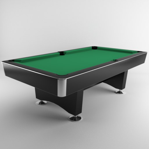 modern pool table 3d max
