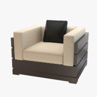 nino chair armchair 3d max