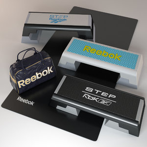 3dsmax reebok equipment logo