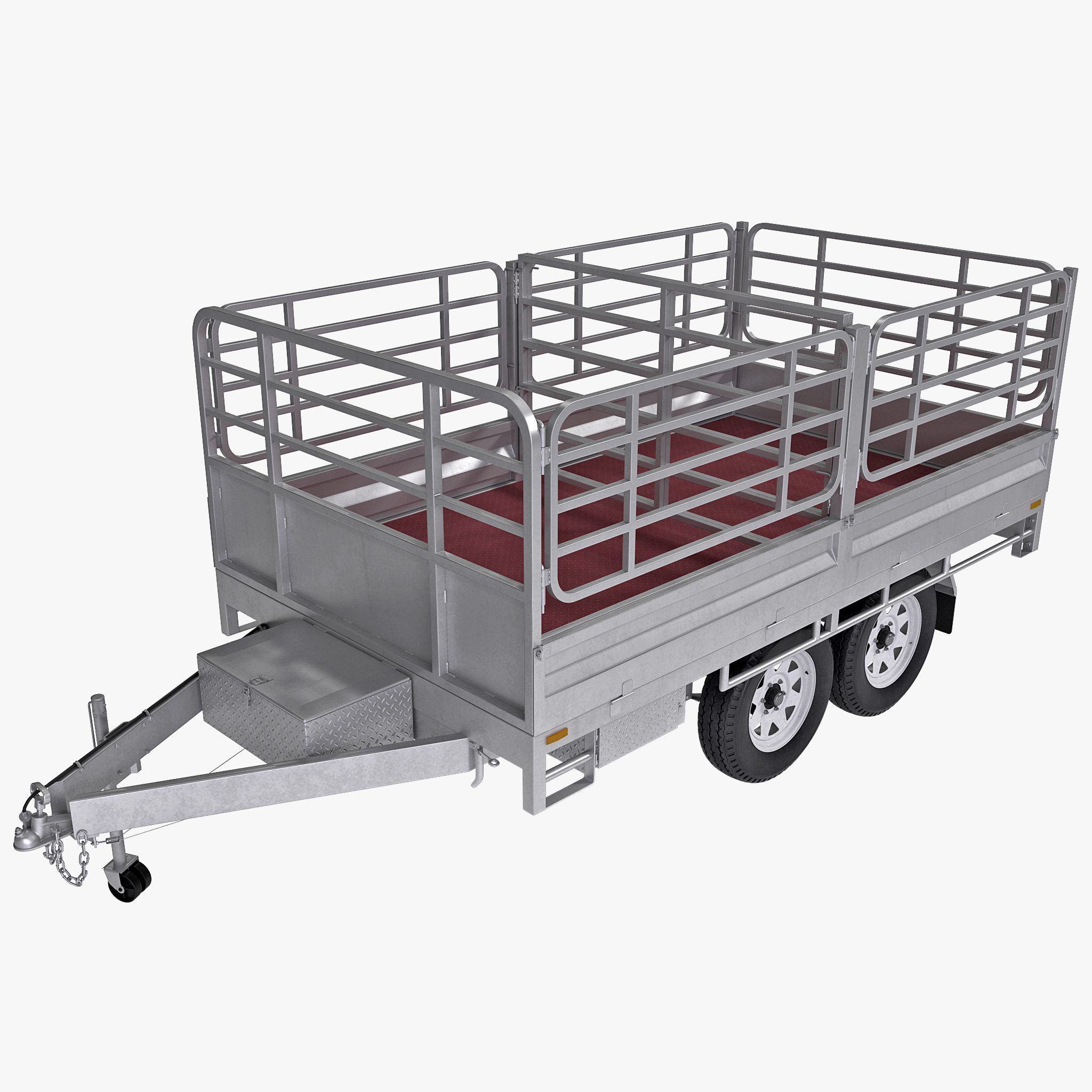 3ds max tipping trailer