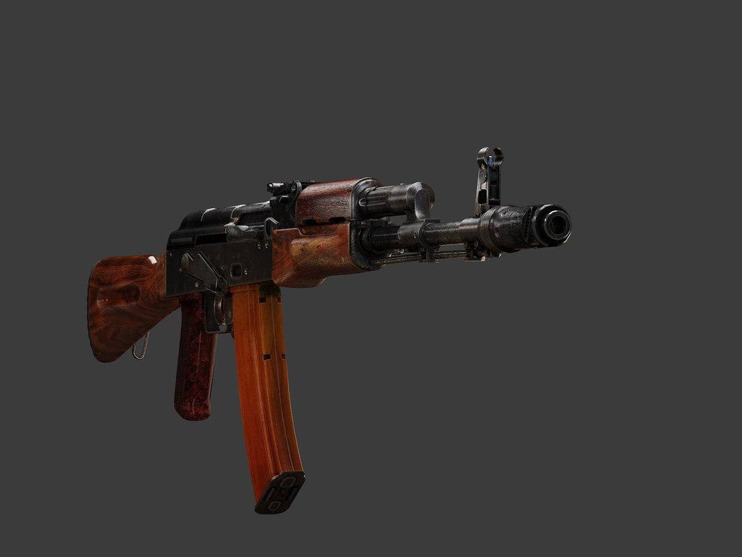 max ak-74 rifle
