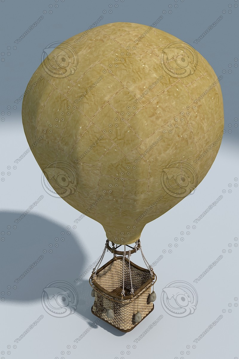 ancient air baloon 3d 3ds