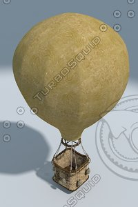 ancient air baloon 3d 3ds
