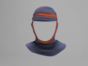 3d headdress model
