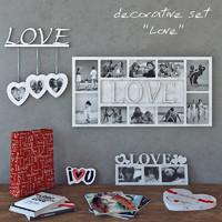 decorative set Love