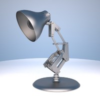 3d model table lamp luxo jr