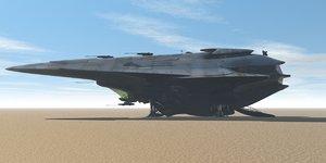 maya spaceship cargo
