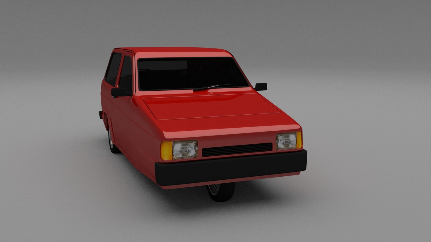 3d robin reliant model