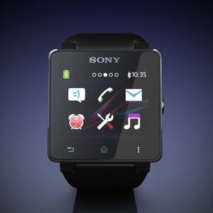 3ds max sony smartwatch 2