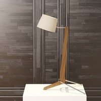 silva desk lamp cerno 3d model