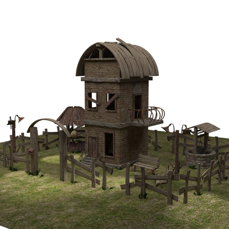 yard old house max