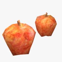 3d model apple ready