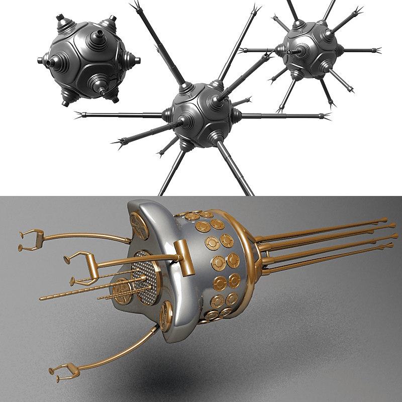 3d nanobot nano bot foglet