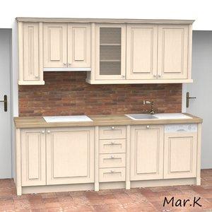 3ds kitchen