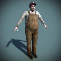 Farmer Edgar Rigged