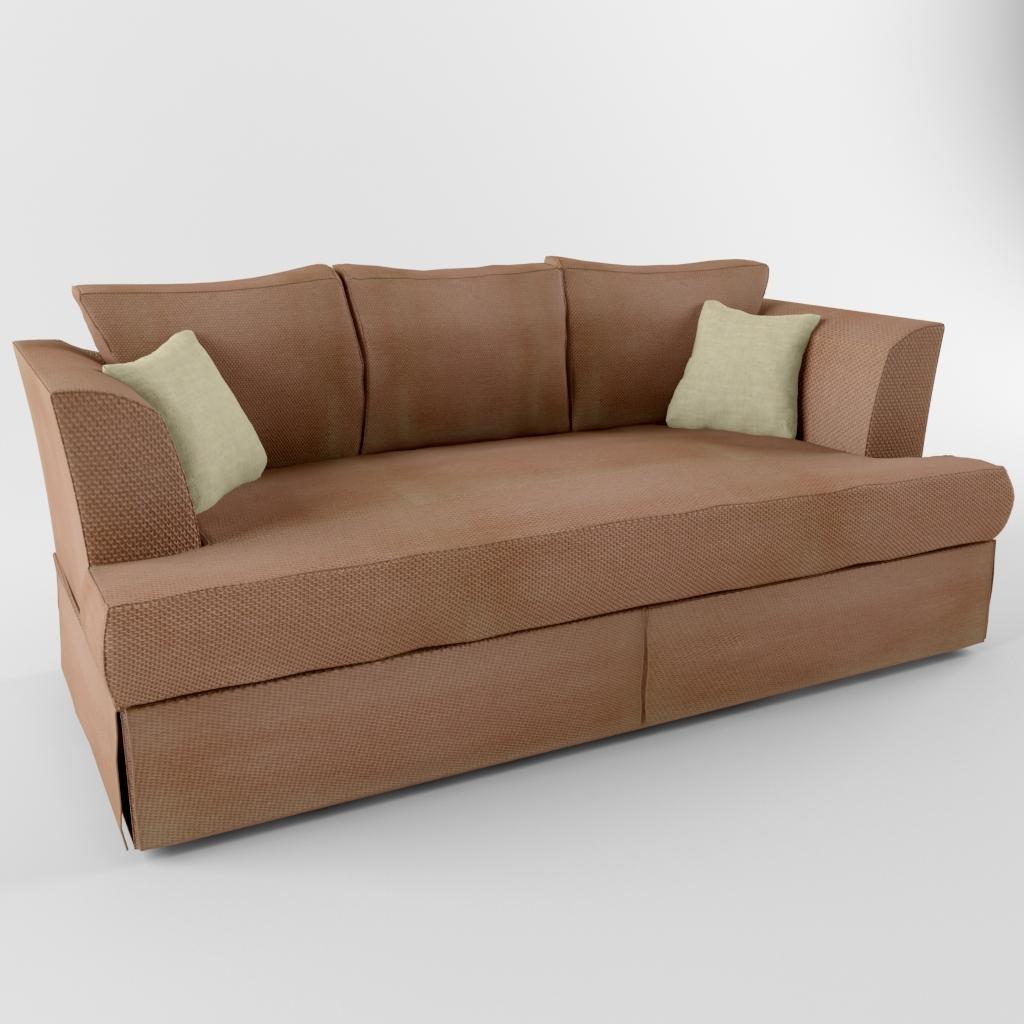 Sofa Heritage 3d Obj