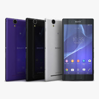 3d model of sony xperia t2 ultra