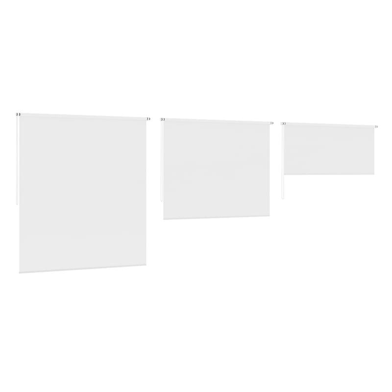 3d model white window blinds