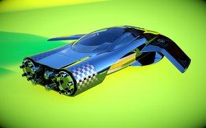 car originally designed 3d model
