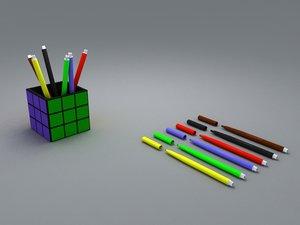 3d model markers