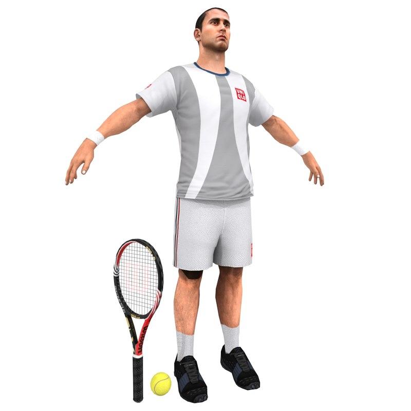 tennis player obj