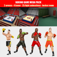boxing pack games 3d max
