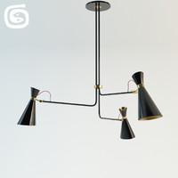 3d model simone lamp