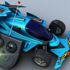 3d model remote control car