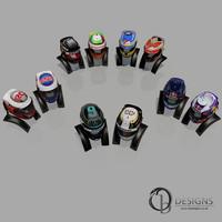 3d 10 2014 formula helmets