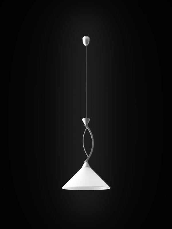 3d max nowodvorski bona silver lamp