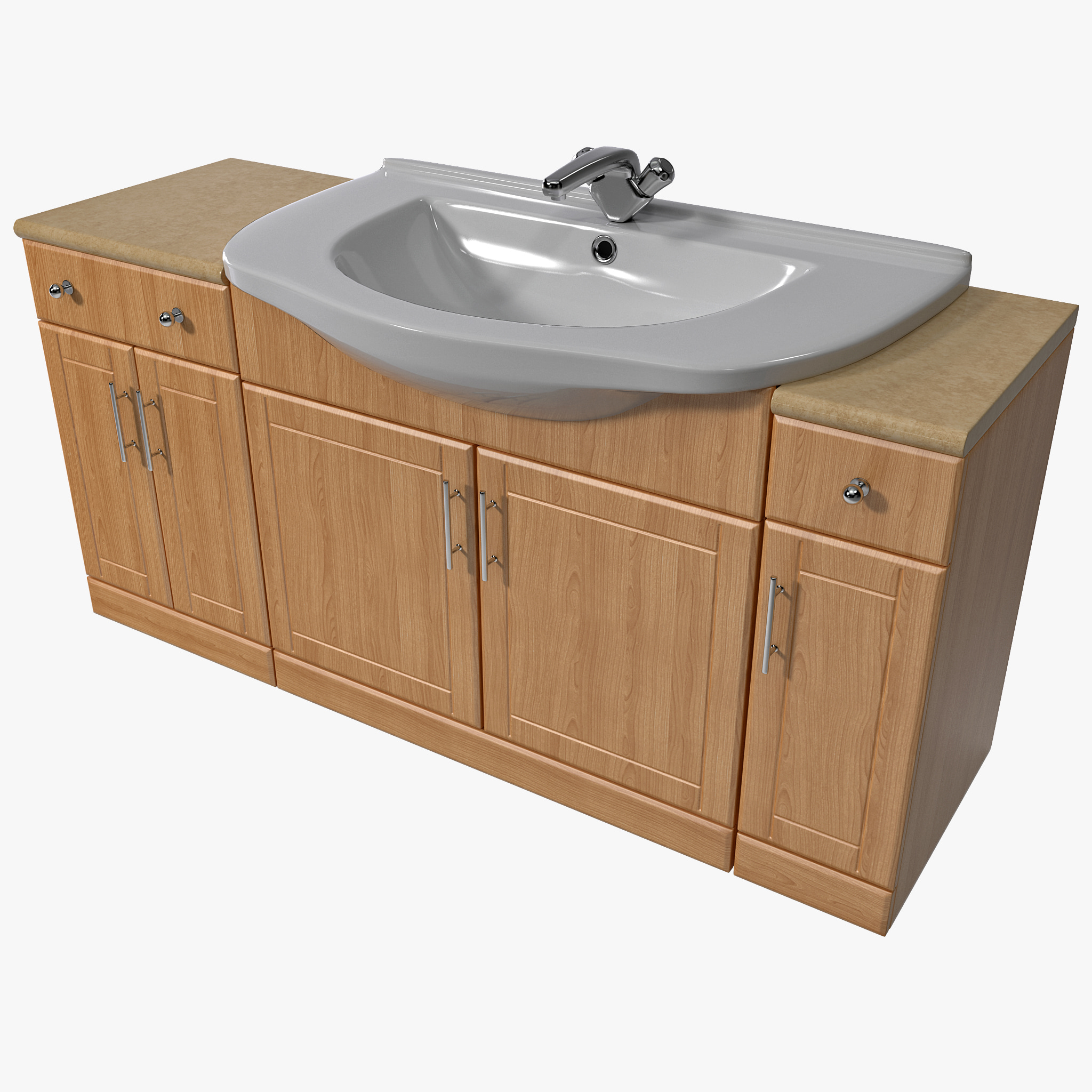 Bathroom Sink And Cabinet Style Selections Ellenbee White