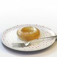 3d donut 04 model