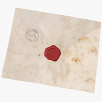 3d model envelope
