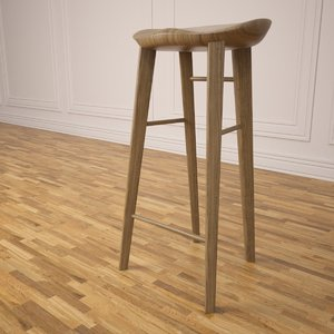 tractor stool 3d max