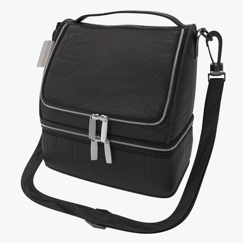 3d lunch bag model