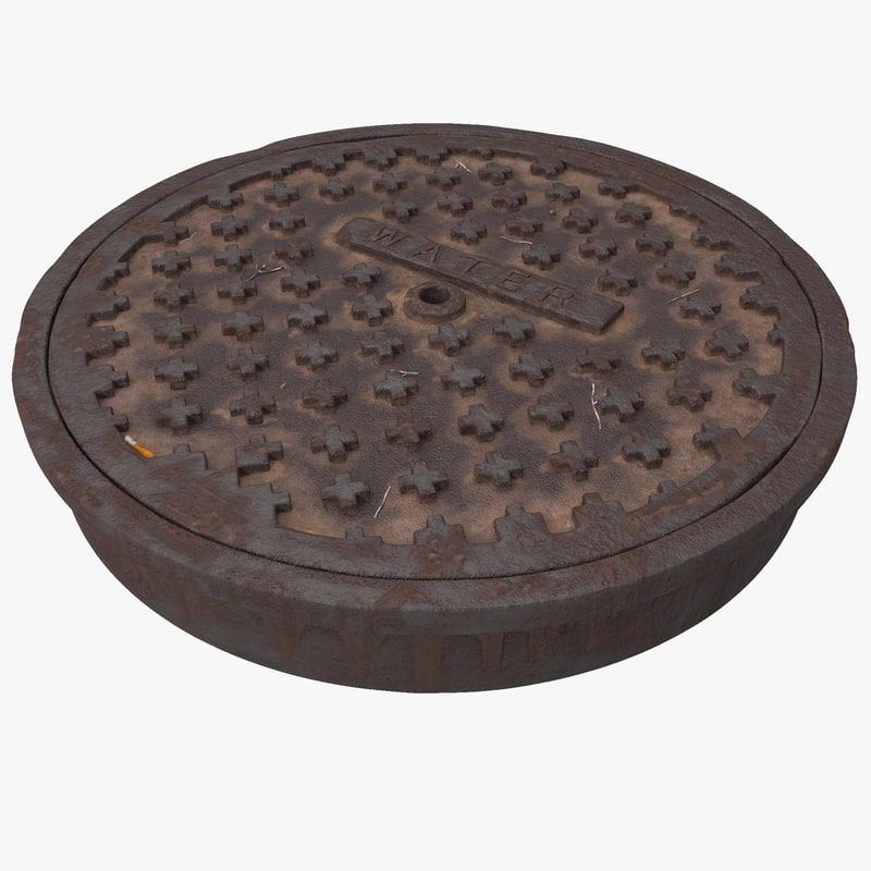 3ds manhole cover