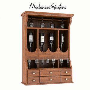 3d modenese gastone art 6179 model