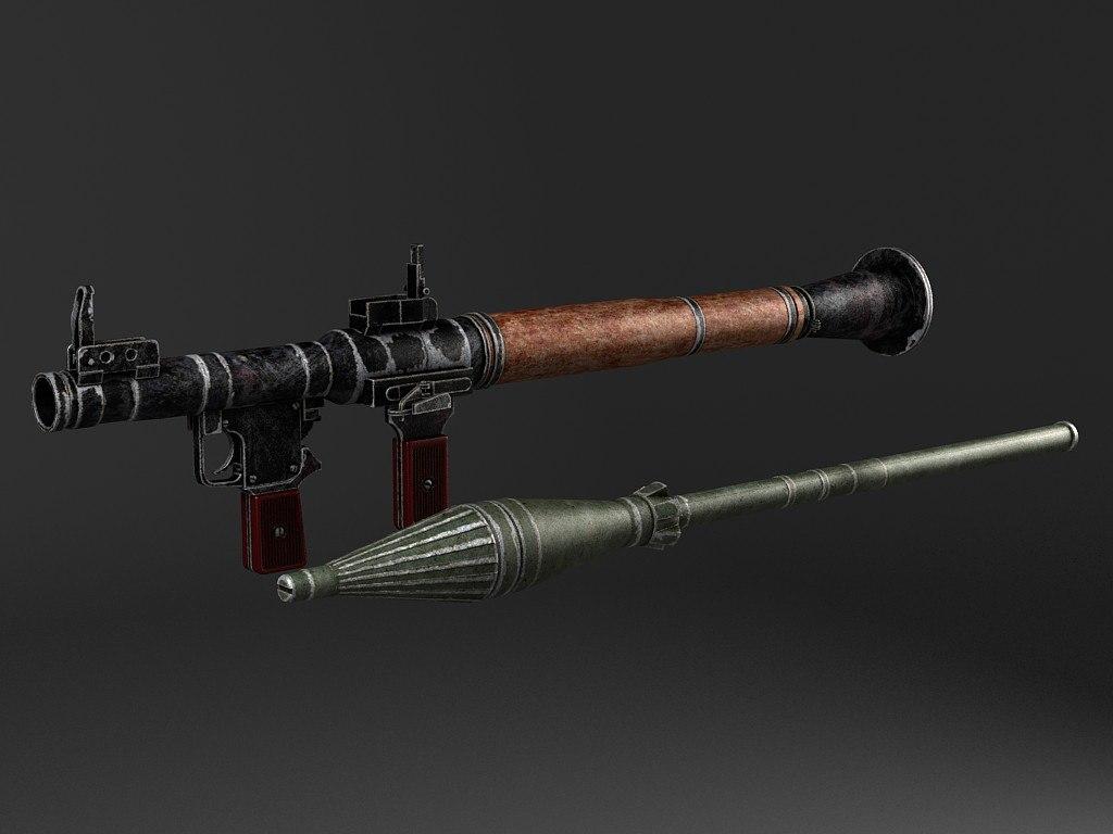 rpg-7 bazooka 3d 3ds