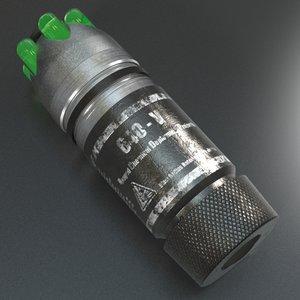 chemical grenade obj