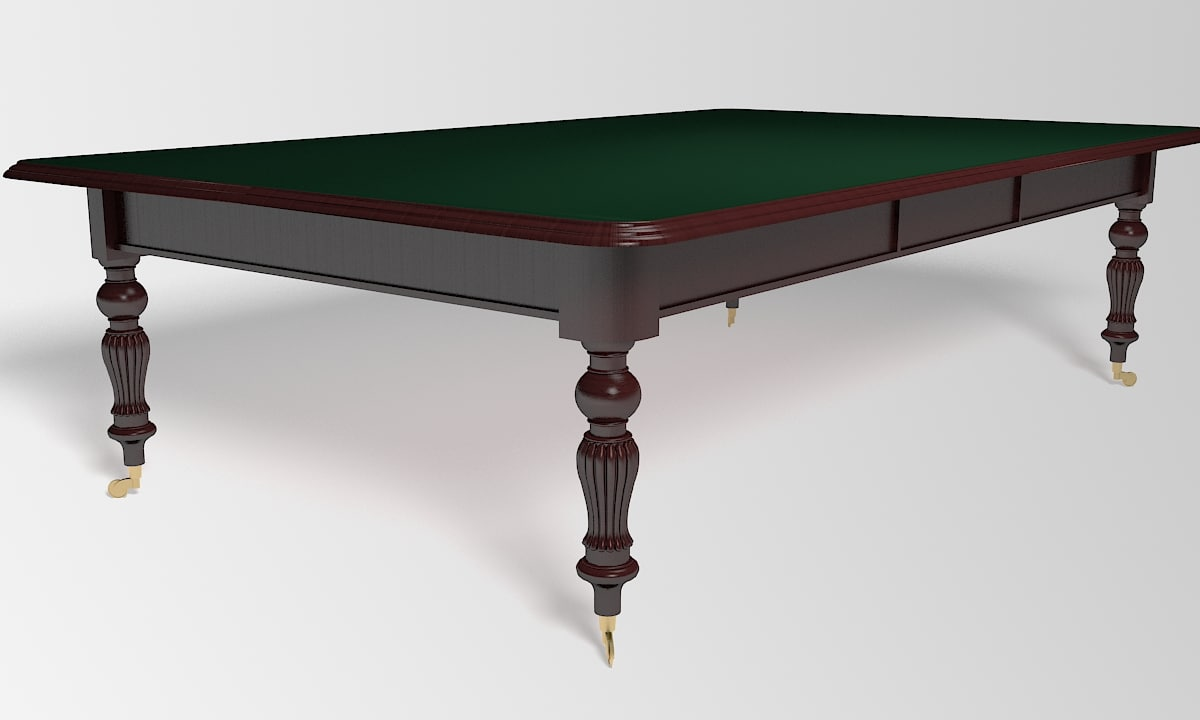3ds max victorian table wheels